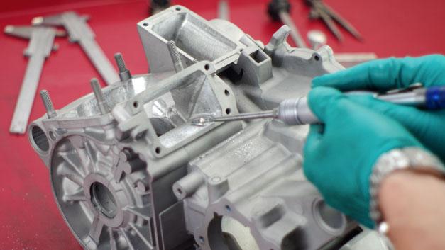 Preparazione elaborazione lavorazione cilindri carter
