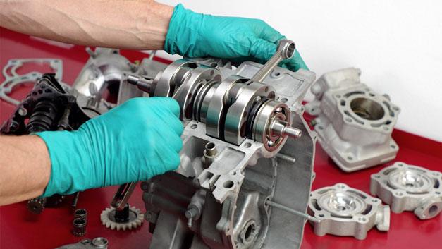Preparazione elaborazione blocco motore