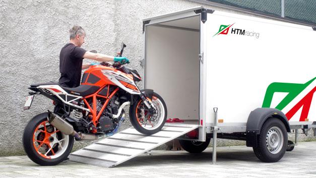 Trasporto spedizione ritiro moto a domicilio