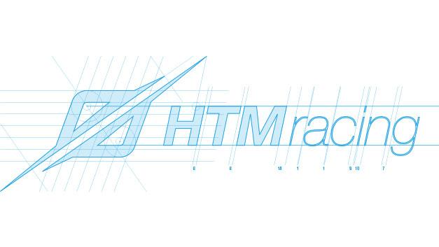 HTM Racing logo brand identity