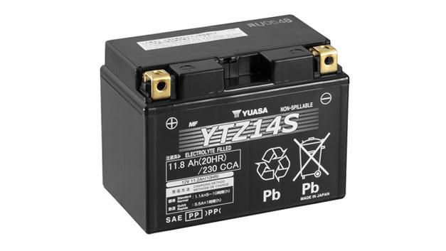 Batterie alte prestazioni senza manutenzione moto