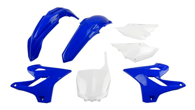 Kit completi plastiche cross enduro supermotard