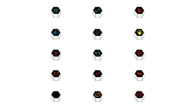 Kit indicatori tachimetro digitale Koso