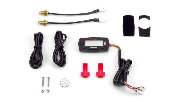 Termometro doppio moto go-kart Koso
