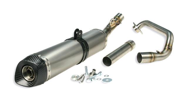 Impianto scarico collettore silenziatore Yamaha YZF R MT WR 125