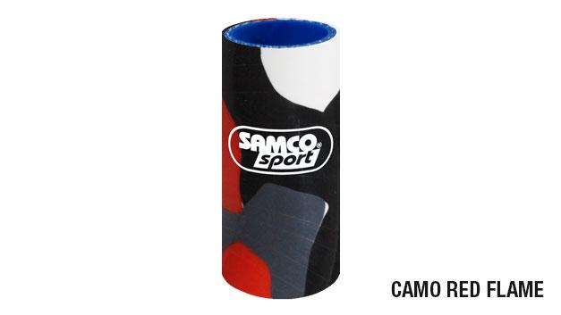 Tubazioni in silicone Samco Sport camo red flame