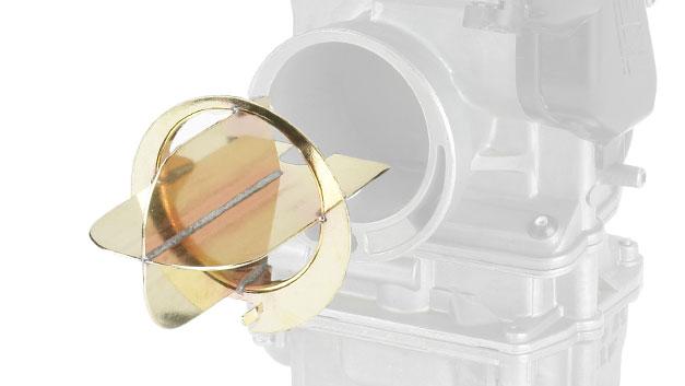 Convogliatore flusso carburatore Keihin FCR