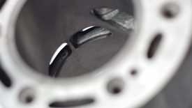 Rettifica canna ghisa cilindro Honda CR 250