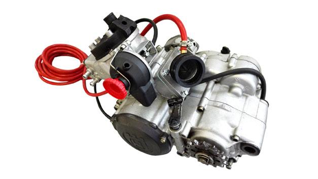 Kit modifica valvola scarico pneumatica recupero gas Husqvarna SMS SM WRE CR WR 125