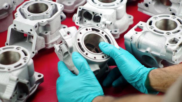 Ricromatura cilindro grippato
