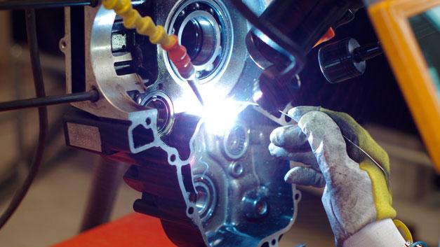 Saldature TIG Laser riparazioni