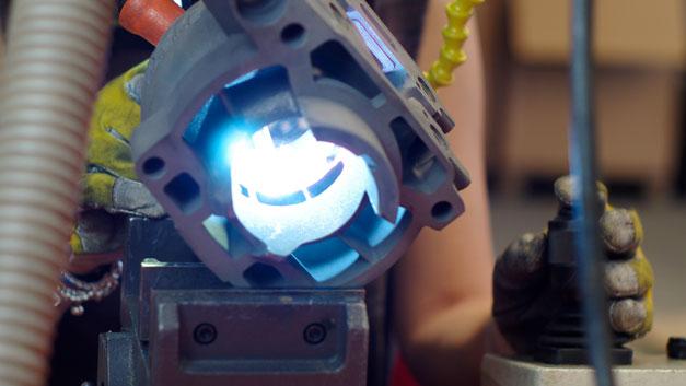 Saldature Laser riparazioni