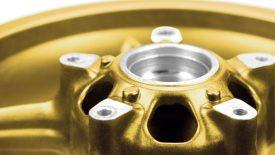 Verniciatura polvere cerchi lega Gilera GP 800