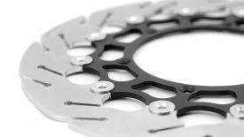 Progettazione produzione dischi freno su misura KTM 125