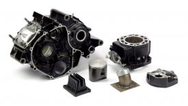 Preparazione blocco motore Honda NSR 125