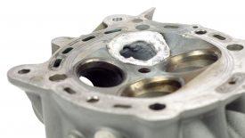 Saldatura TIG testata Ducati Multistrada 1200