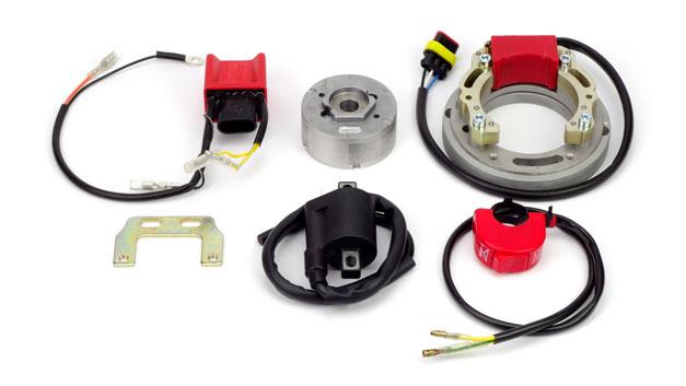 Kit accensione rotore interno centralina due mappature Kawasaki KX KXE 125