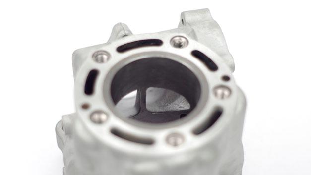 Riparazione cilindro grippato canna ghisa HM CRE CRM 125 Honda