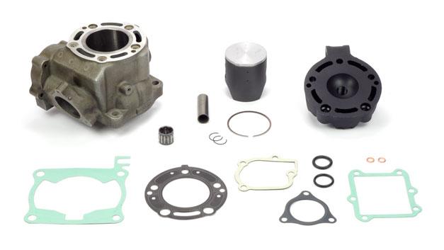 Riparazione cilindro grippato canna ghisa Honda CR CRE 125
