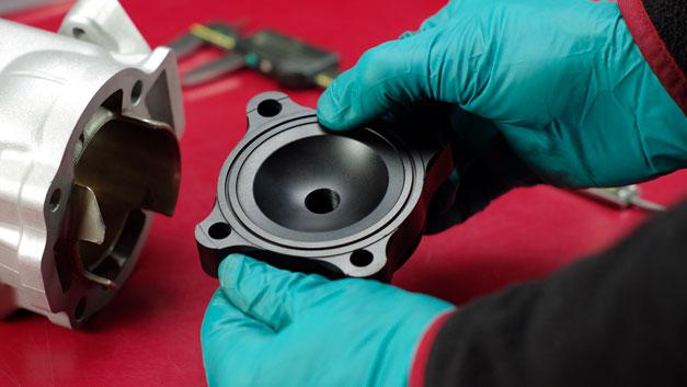 Ricromatura cilindri rettifica