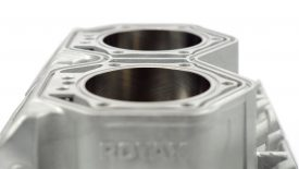 Cromatura cilindri Rotax moto slitta
