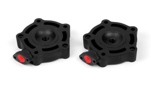 Teste emisferiche candela centrale VHM accessori ricambi Aprilia RS 250