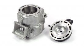 Elaborazione cilindro testata Honda CR 500