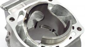 Lavorazione travasi cilindro Honda CR 500