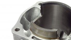 Preparazione cilindro Honda CR 500