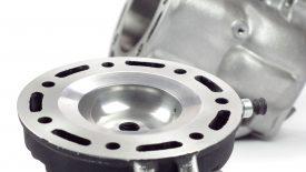 Preparazione cilindro testata Honda CR 500