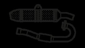 Impianti scarico marmitte collettori silenziatori 4t