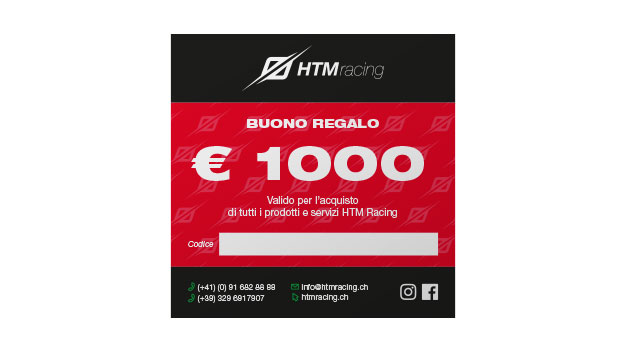 Buono regalo HTM Racing 1000
