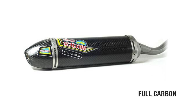 Silenziatore carbonio Scalvini Honda CR 85