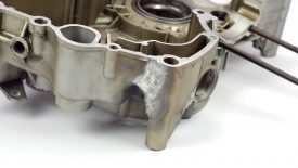 Riparazione carter saldatura TIG Ducati Monster 900