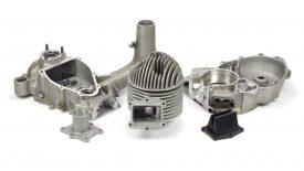Elaborazione blocco motore Quattrini 144 Vespa