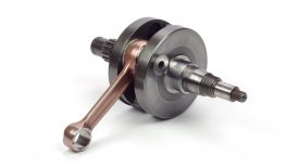 Cromatura dura spessore perni banco albero motore go-kart Rotax Max 125