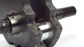 Riporto cromo duro perni banco biella albero motore Kawasaki VN 1500