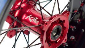 Montaggio raggiatura ruote mozzi Kite Husqvarna SMR 450