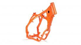 Verniciatura polvere telaio KTM EXC 125