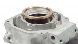 Cromatura cilindro Aprilia RS 125 anello anti detonazione
