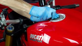 Ducati Monster 1200 officina