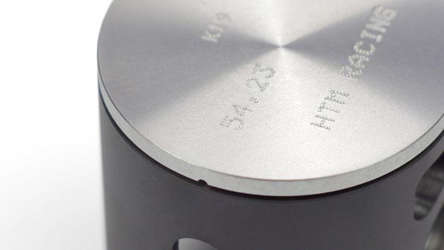 Pistone stampato grafitato misura speciale