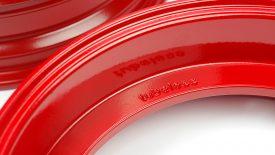 Verniciatura polvere cerchi Piaggio Vespa PX 125