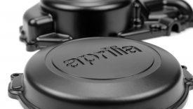 Verniciatura polvere carter Aprilia SXV 550