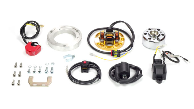 Kit accensione centralina due mappature HM CRE CRM 125 Rotax