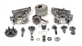 Elaborazione blocco motore KTM SX 50