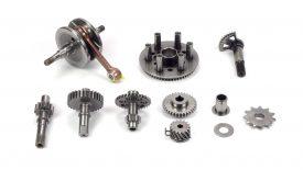 Superfinitura pezzi motore KTM SX 50